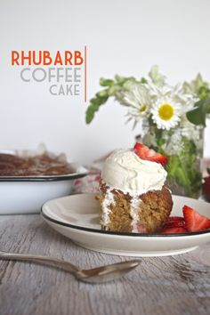 Easy cake recipes for Mother's Day and beyond: Rhubarb Coffee Cake from Shutterbean