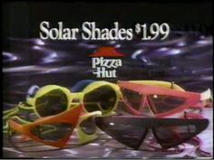 Surprisingly for being such a popular film series among all age groups, Back to the Future had very little tie-in kid products (aside from a video game and a Micro Machines play set), so these sunglasses helped fill that void. Plus they made any kid look super futuristic and cool (or so we thought).