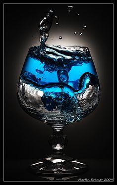 blue liquid,,,color splash,,,