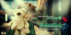 Jundiaí Shopping on Behance Shopping Center, Behance, Teddy Bear, Campaign, Shopping Mall, Teddy Bears