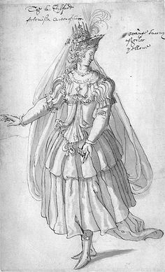 Reinette: Costumes by Inigo Jones and Buontalenti  Artemisia from the Masque of queens