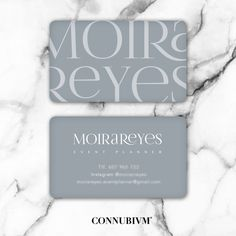 Moira Business cards