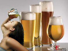 Καλλυντικά από σπίτι: Σαμπουάν και Μαλακτική Κρέμα Μαλλιών Μπύρας Pint Glass, Beer, Mugs, Glasses, Beauty, Root Beer, Eyewear, Ale, Eyeglasses