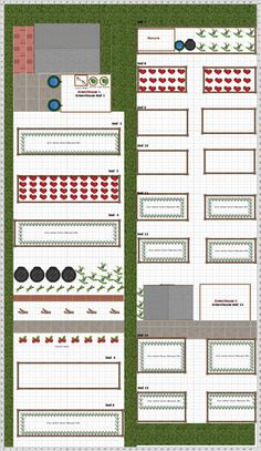 Garden Plan - 2016: Allotment-Planted-ToDate A Ten Rod Allotment Plot. Situated in North East Essex. It belongs to The Walton and District Allotment Association. 100% of my crops will be grown using the Square Foot method this year. Plants already established Rhubarb, Asparagus and Raspberries will be grown conventionally.