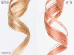 How to Get Rose Gold Hair With oVertone | Overtone Haircare