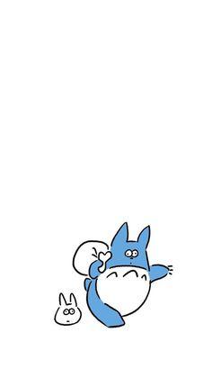 Black And White Art Drawing, Black And White Doodle, Kawaii Wallpaper, Cartoon Wallpaper, White Wallpaper, Totoro, Character Illustration, Illustration Art, Line Doodles