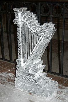 Harfa * z ledu ♥
