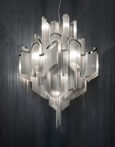 All of these lamps and chandeliers are incredible, but this one is my favorite. Stream by Terzani