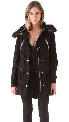 The winter parka, stay warm and stylish. A black one for posh events and an army green for casual. Get them in different fabtications. I prefer the fur arrond the hood not too overpowering.