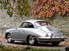 Porsche 356 type B Super 90, built in 1963 - photo by Rolf Neighboring