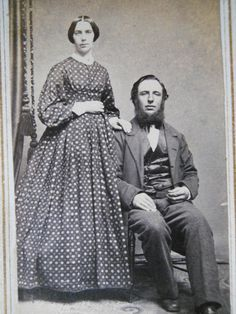 Handsome Couple Pregnant Wife Tax Stamp Civil War CDV Photo Rockford Illinois | eBay Is she pregnant?