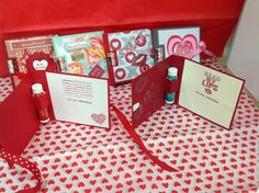 Stampin Up Lip Balm cards (inside)