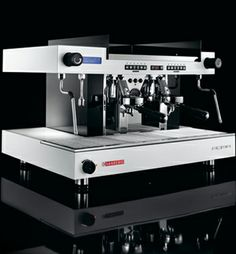 Sanremo Roma TCS with Temperature Stability Control technology, used in the UK barista championships