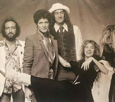 Fleetwood Mac - Tusk photo shoot out takes.