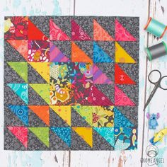 "631 Likes, 16 Comments - Angie @ GnomeAngel.com (@gnomeangel) on Instagram: ""Welcome to Long Time Gone Wednesday! Today I've got the tutorial for making this amazing block.…"""