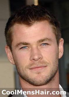 Chris Hemsworth. It is the eyes!