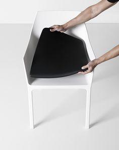 Mem + cushion design by Christophe Pillet - Kristalia #plastic #cushion #outdoorfurniture #designchair #kristalia