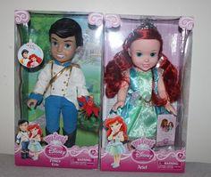 New My First Disney Princess Toddler Ariel Prince Eric Dolls Little Mermaid   eBay