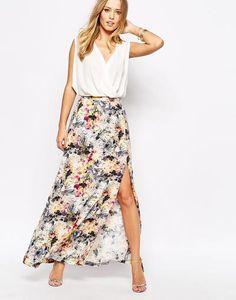 Supertrash Maxi Skirt in Floral Print at asos.com #maxiskirt #women #covetme