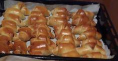 Μόλις βγήκαν. Ζεστά ζεστά τυροπιτάκια λουκανικοπιτάκια !!!  Υλικά 1 και 1/2 κούπα γάλα χλιαρό 1/2 κούπα ηλιέλαιο 2 αυγά 1 κουταλάκι αλάτι... Sausage, Food And Drink, Sausages, Chinese Sausage
