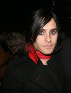 Jared Leto Black Hair | jared leto's hair in music video yesterday? | Yahoo Answers