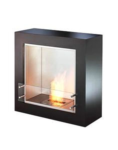 """""""For an instant fireplace, add a biofuel fireplace unit. It's a wonderfully simple installation, with no ventilation required, and they're fueled by ethanol — easily purchased at the hardware store."""" -David Easton   - HouseBeautiful.com"""