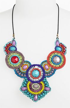 Spring Street Design Group 'Frida' Statement Necklace available at #Nordstrom