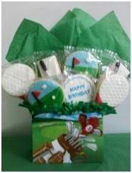 Golf Cookie Bouquet by Distinctive-Desserts.com