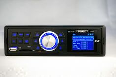 DIN size DAB receiver with ISO socket for European Car       Easy Operation