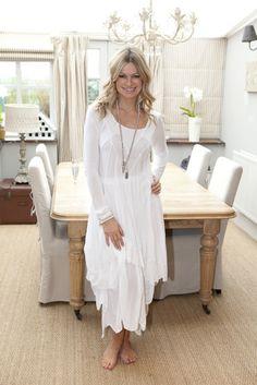 Penny dress white