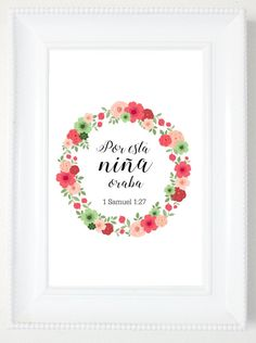 Items similar to Spanish Biblical Print Wall Art, 1 Samuel Printable Spanish Quotes, Spanish Scripture Nursery Wall Art Spanish Biblical Verse on Etsy Biblical Verses, Bible Verses, Short Spanish Quotes, Gods Love Quotes, Inspirational Wall Decals, Healing Words, Father Quotes, God Loves Me, Printable Designs