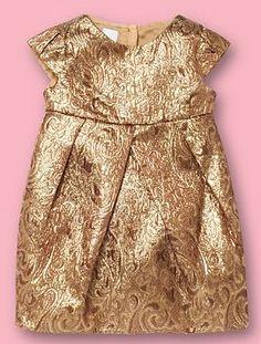 Love this gold tulip dress by Debenhams!