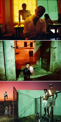 Alex webb is one of my favourites. Notice use of colored light simplicity in costumes and the tonal green. Color Photography, Film Photography, Street Photography, Magnum Opus, Storyboard, Francis Wolff, Color In Film, Cinematic Lighting, Alex Webb