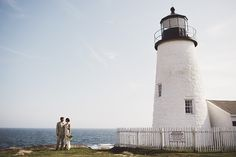 Maine Lighthouse Wedding - Sarah Culver Photography