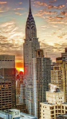 Beautiful NYC skyline view.