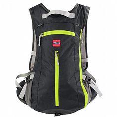 TECOOLTM 15L Outdoor Sports Backpack Shoulder Belt Bag For Biking Cycling  Traveling Camping HikingBlack   Learn cc2019aafb