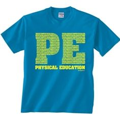 1000 images about hpe phys ed swag on pinterest for T shirt design for education