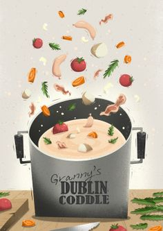 Granny's Dublin Coddle by Peter Donnelly, via Behance