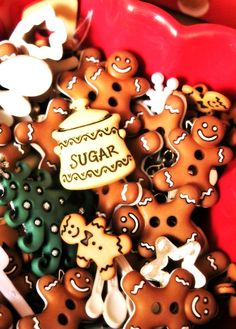 Gingerbread Cookies #gingerbread #cookies