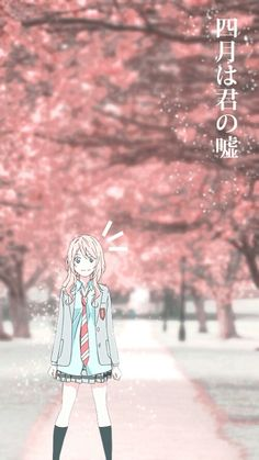 anime, shigatsu wa kimi no uso,your lie in april image