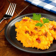 Kitchen Riffs: Chipotle Mashed Sweet Potatoes