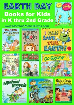 Earth Day Books for Kids in K thru 2nd Grade - Pinned by @PediaStaff – Please Visit  ht.ly/63sNt for all our pediatric therapy pins