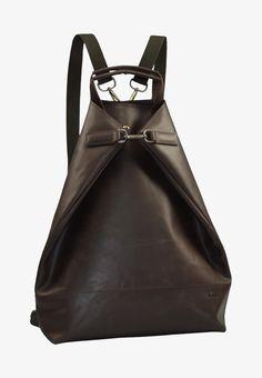 Jost VARBERG - Tagesrucksack - brown - Zalando.at Sling Backpack, Leather Backpack, Purses And Bags, Backpacks, Fashion, Get Tan, Leather, Moda, Leather Backpacks
