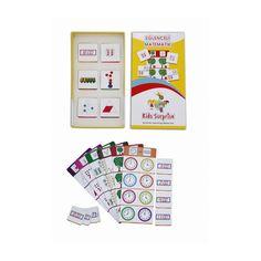 Eğlenceli Matematik Yaş:5+ Çeşitli temel matematik kavramlarının öğrenilmesini sağlayan bir oyundur. Kazanılacak Beceriler : * Sayı sayma * Toplama işlemine ilk adım * Parça-Bütün ilişkisi * Saat Kavramı * Dikkat ve konsantrasyon gelişimi * Özgüven kazanımı Kullanım Şekli:Aynı renkte çizgi ile işaretlenmiş olan ana tabela ile 8 adet tamamlama kartı seçilir. Tamamlama kartları tabelanın üstündeki …