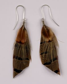 inspiration: feather earrings