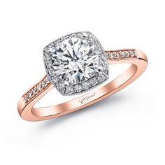 Coast Diamond Rose Gold Engagement ring (#LC5391RG)