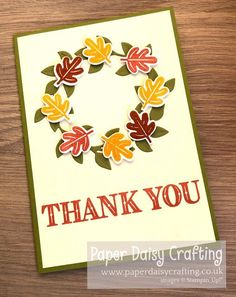 Paper Daisy Crafting: Stampin' Dreams September blog hop - Favourite Season Paper Daisy, Mesh Ribbon, Treat Holder, Fall Cards, Pretty Flowers, Autumn Leaves, I Card, Stampin Up, I Am Awesome