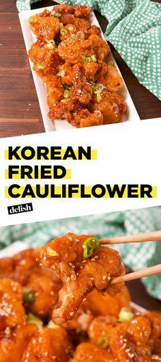 Korean Fried CauliflowerDelish