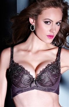 Embroidered Double Wire Push-Up Bra  Style Code: 09716  US$42.99