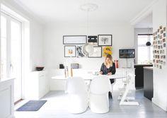La maison dAnna G.: Le parquet jaune